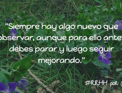 Para, mira y sigue. La mejor estrategia de cambio #RRHH