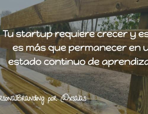Funda tu Primera Startup: Tú mismo